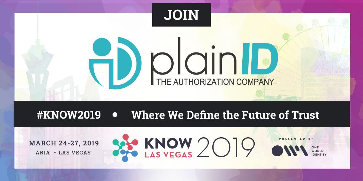 KNOW Identity 2019